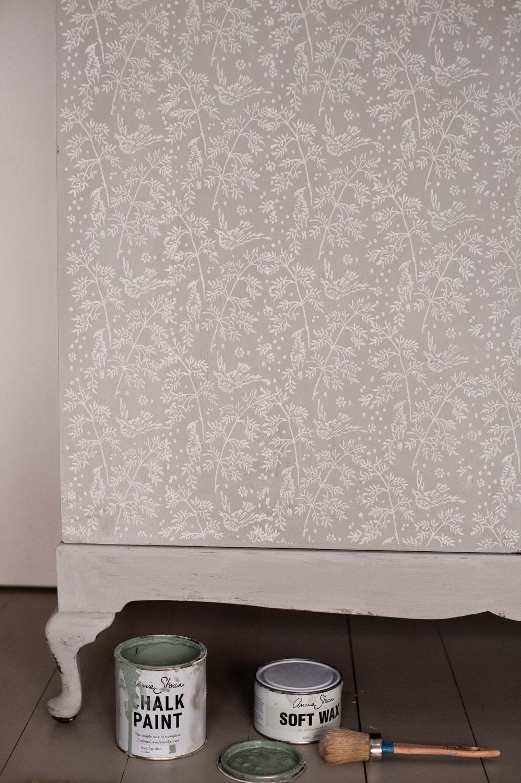 Rullo pittura decorativa pareti stoffa 10 keblog - Pittura decorativa pareti ...