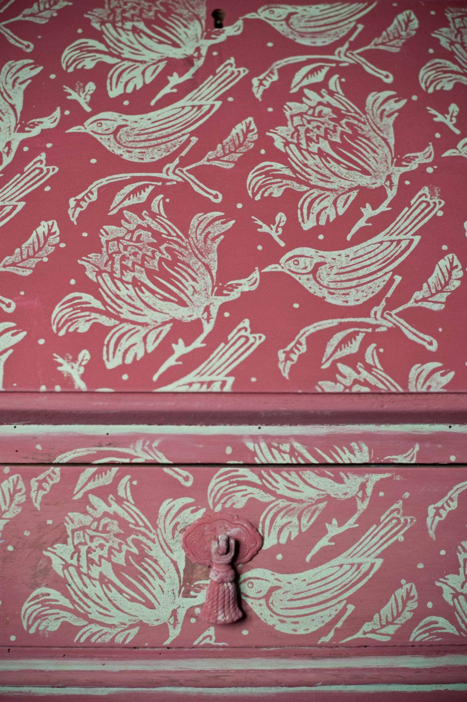 Rullo pittura decorativa pareti stoffa 26 keblog - Pittura decorativa pareti ...