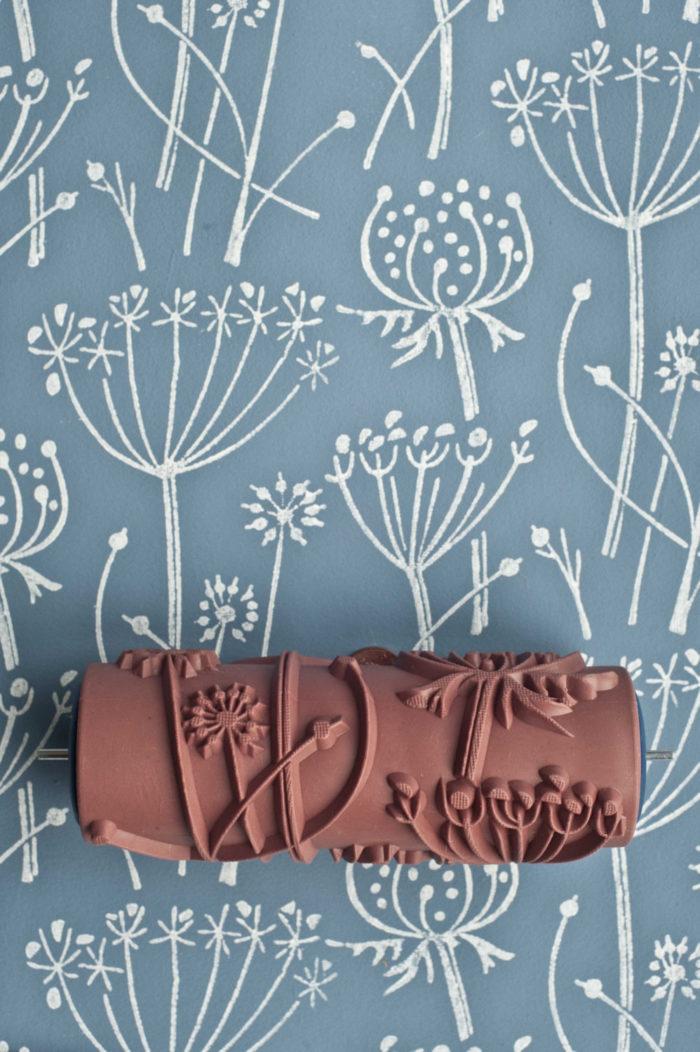 Con questo rullo per pittura decorativo trasformerete le - Rouleau de peinture a motif ...