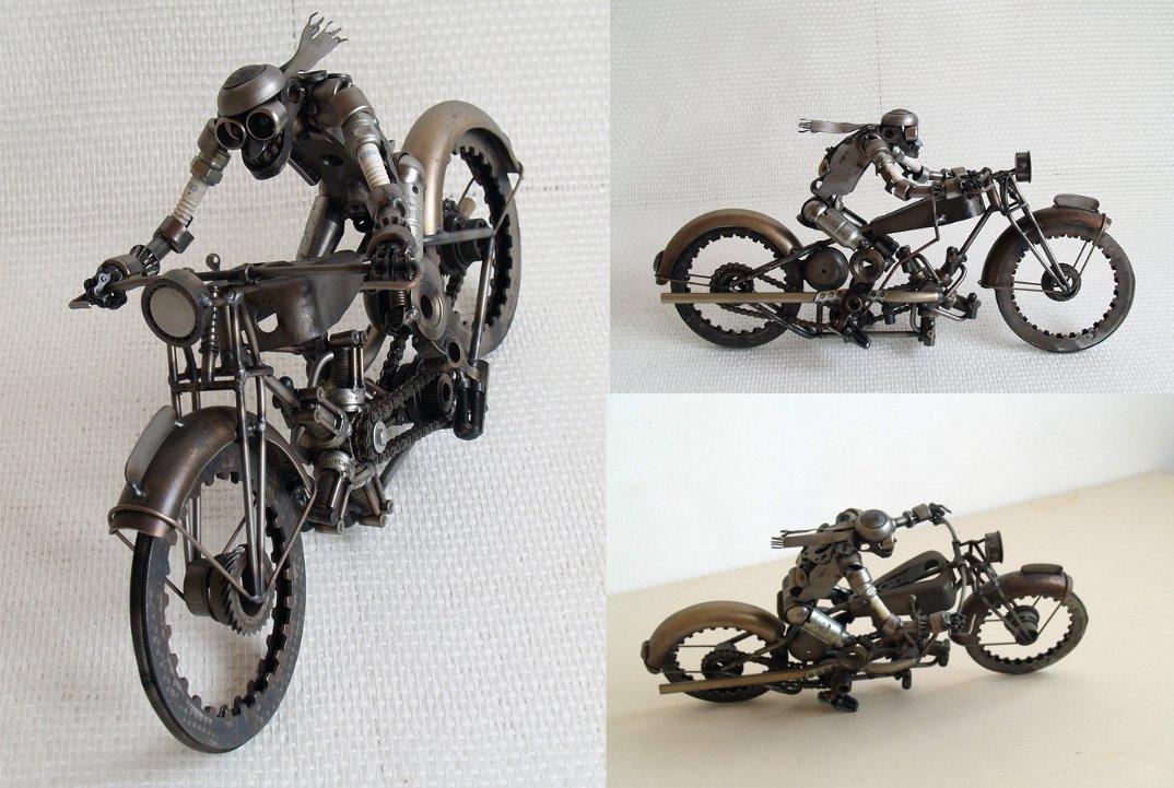 sculture-steampunk-parti-automobili-moto-Tomas-Vitanovsky-43