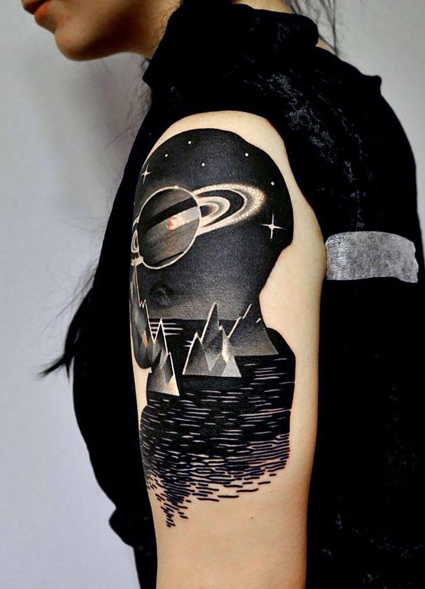 tatuaggi-spazio-pianeti-stelle-galassie-cosmo-idee-05