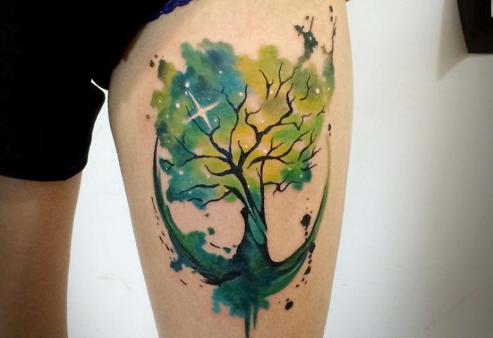 tatuaggi-spazio-pianeti-stelle-galassie-cosmo-idee-14
