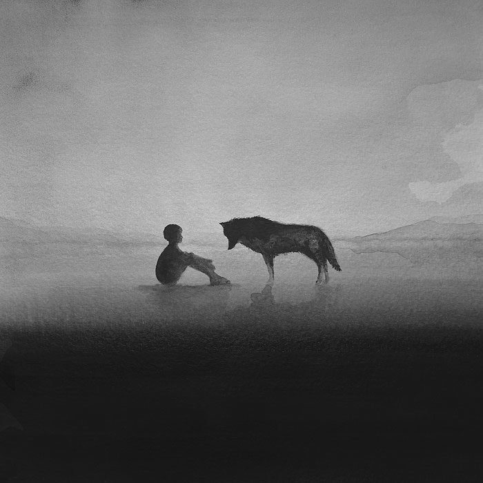 acquerelli-bianco-e-nero-bambini-animali-elicia-elidanto-8