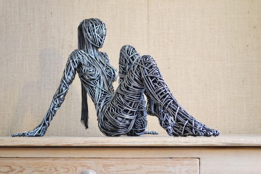 abbastanza 46 tra le più creative sculture di filo metallico - KEBLOG ZI34