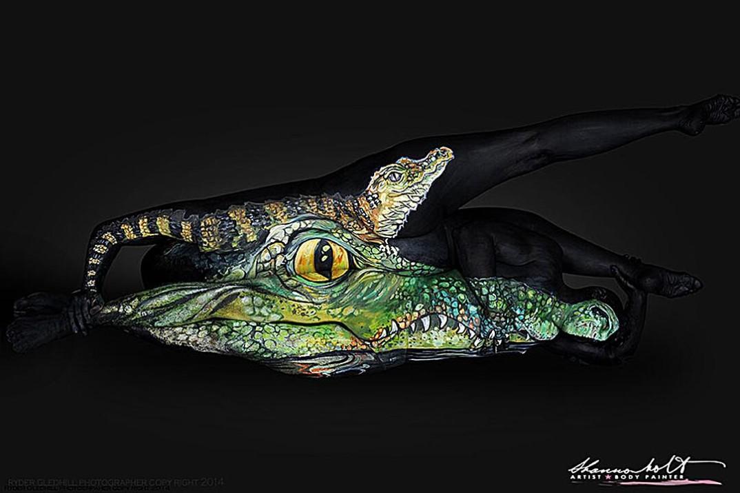 body-art-body-paint-animali-pittura-shannon-holt-2-keblog