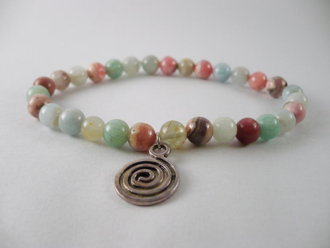 Braccialetto spirale-gioielli-handmade-endless-crap