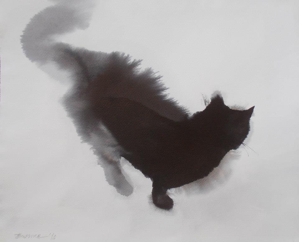 acquerelli-gatti-neri-endre-penovac-6