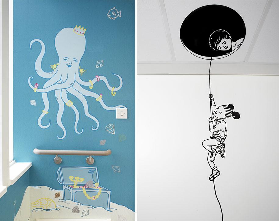 artisti-disegni-ospedale-pediatrico-bambini-londra-vital-arts-07
