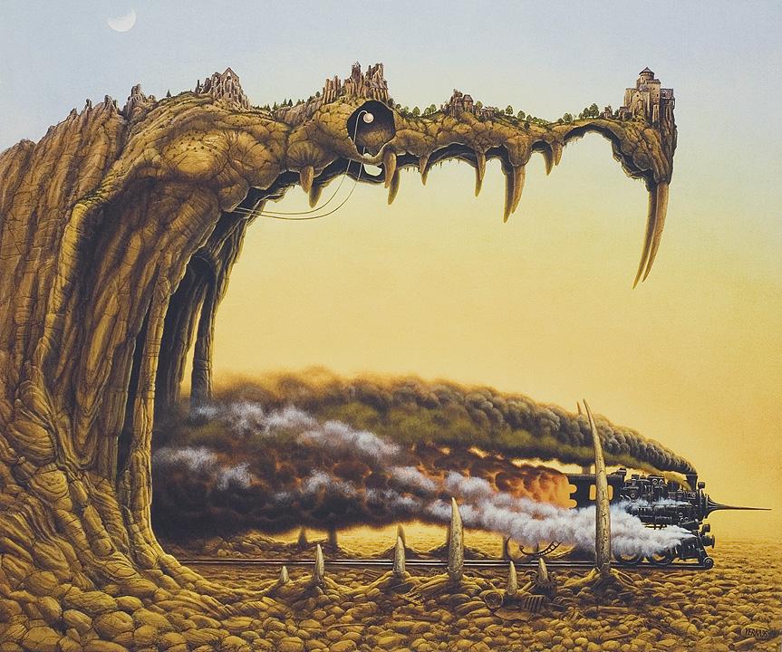 dipinti-surreali-arte-Jacek-Yerks-08