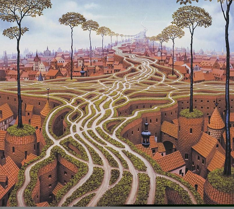 dipinti-surreali-arte-Jacek-Yerks-10