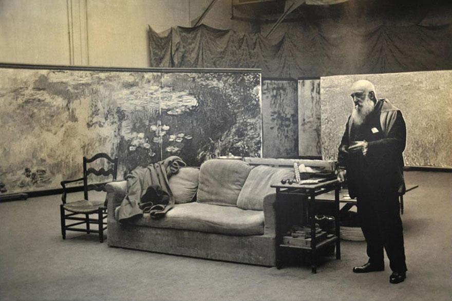 Foto Di Artisti Famosi Nei Loro Studi Claude Monet