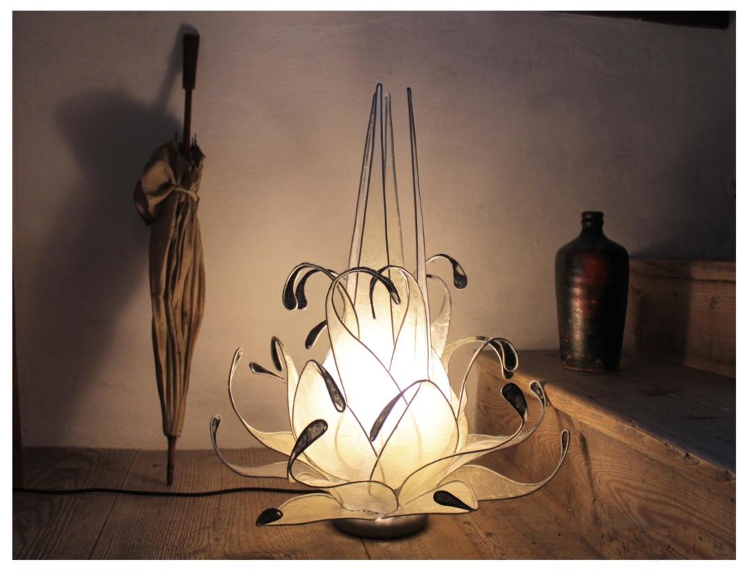 Lampade e gioielli dasca design quando metallo e seta si incontrano keblog - Lampade design famosi ...