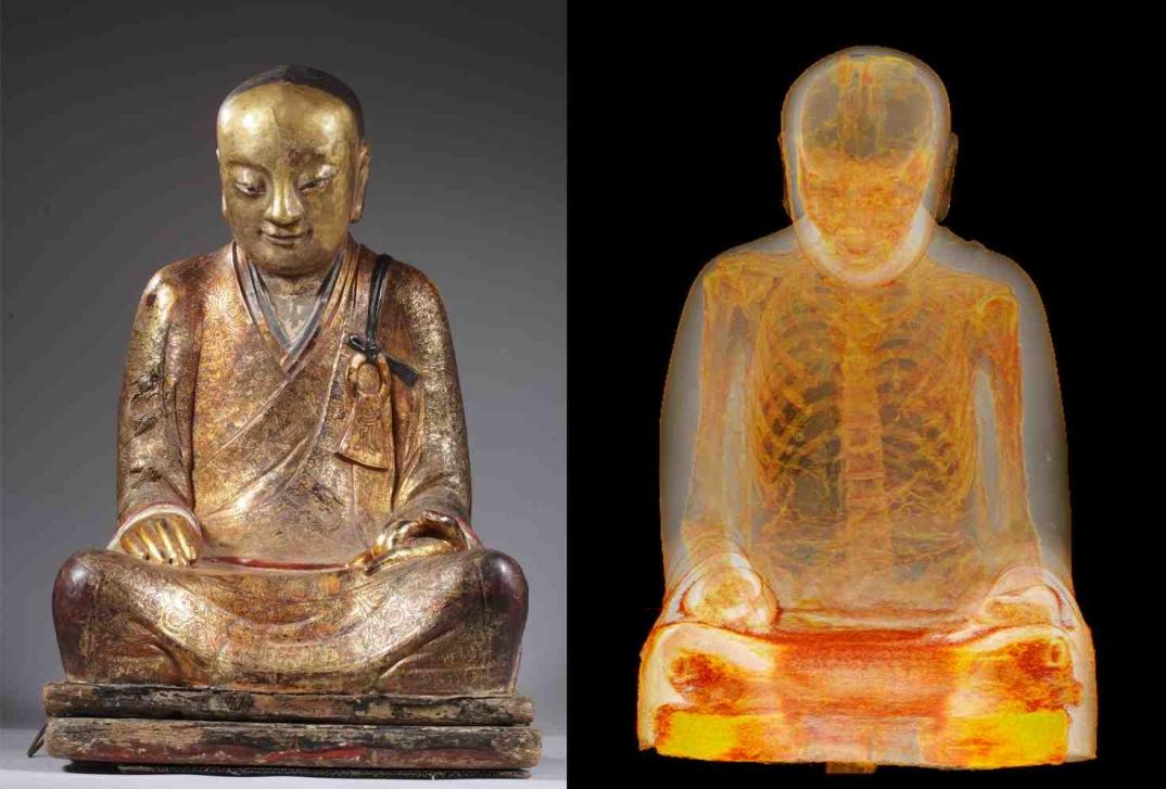 mummia-cinese-buddista-statua-antica-3