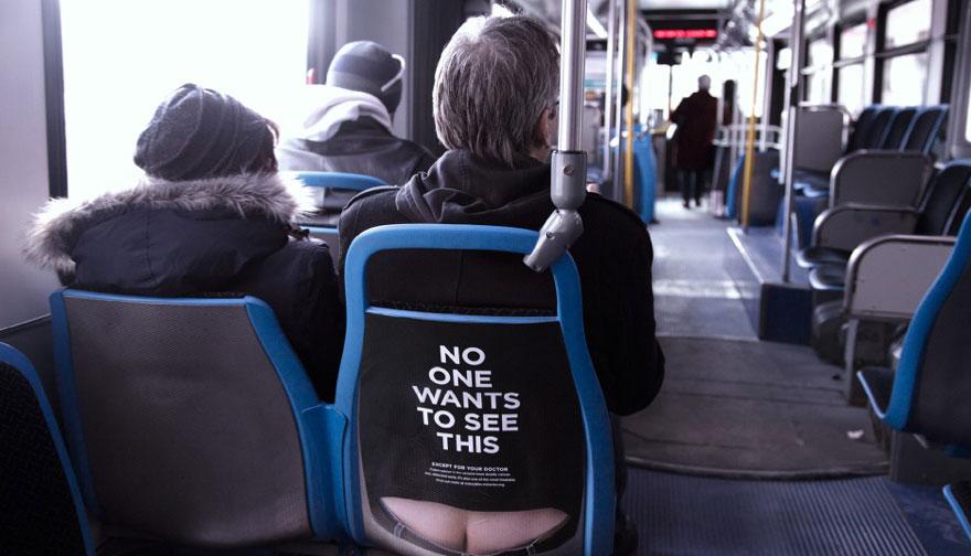 campagna-pubblicitaria-cancro-colon-autobus-sederi-3