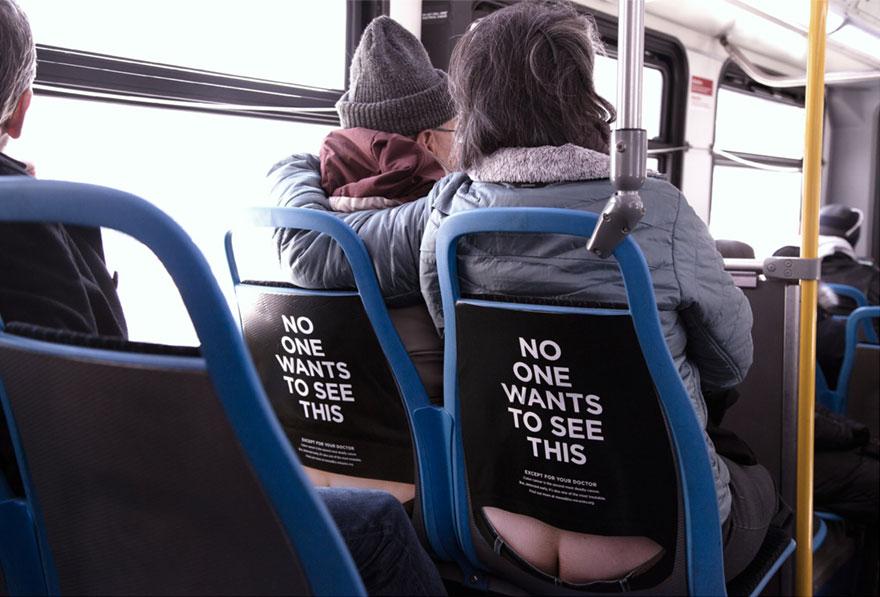 campagna-pubblicitaria-cancro-colon-autobus-sederi-5