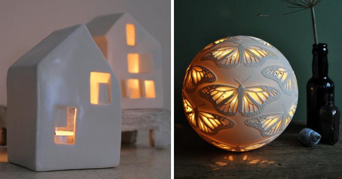 Esempi di lampade per illuminare la casa con luce soffusa ke