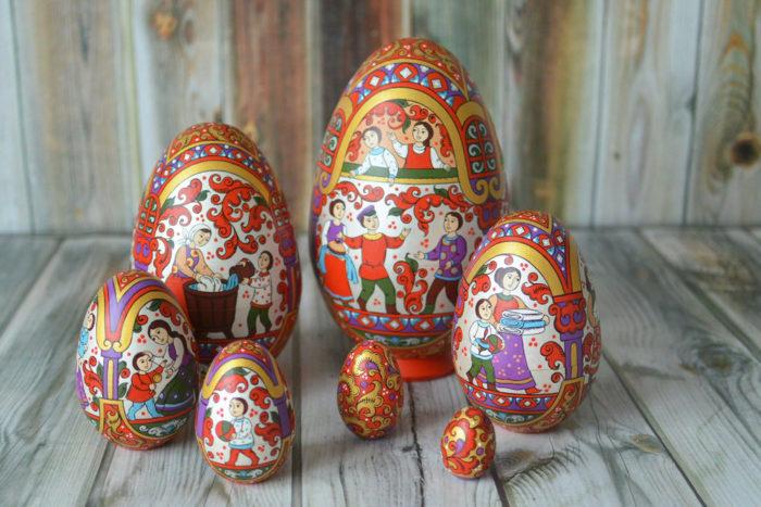 Uova Di Ceramica Dipinte A Mano.Decorazioni Pagina 2 Di 2 Keblog