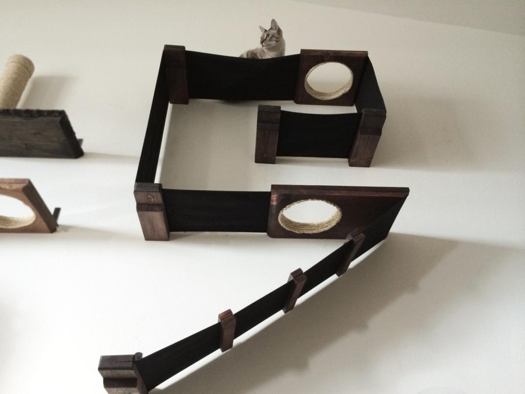 mobili-per-gatti-percorsi-lettini-tiragraffi-amaca-parete-mike-megan ...