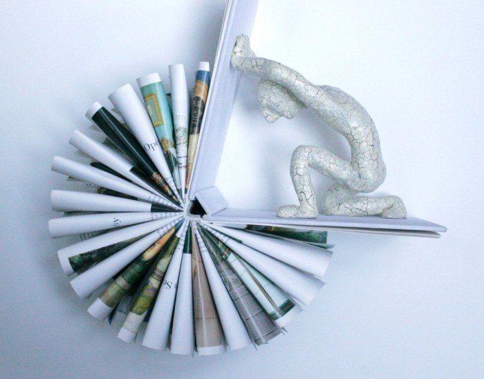 sculture-carta-pagine-libri-pensatore-Kenjio-08