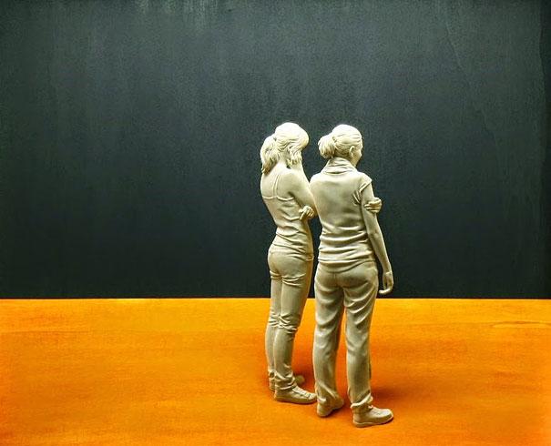 Sculture Di Legno Realistiche Peter Demetz