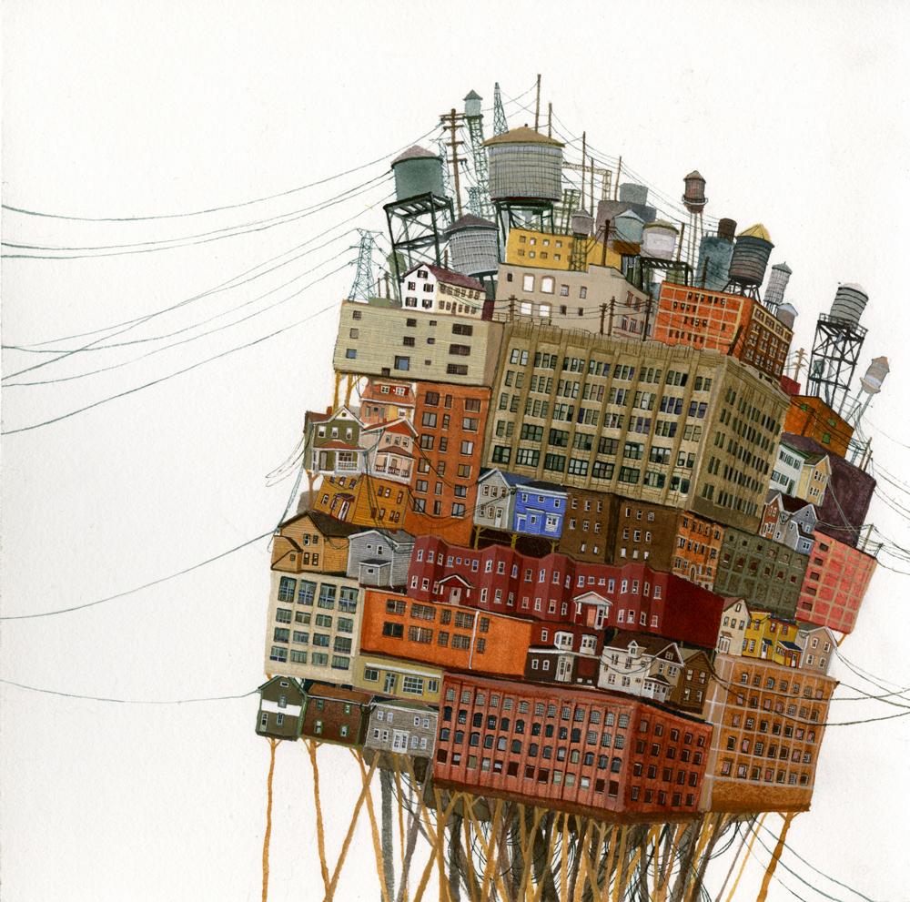 dipinti-arte-caos-urbano-città-amy-casey-01