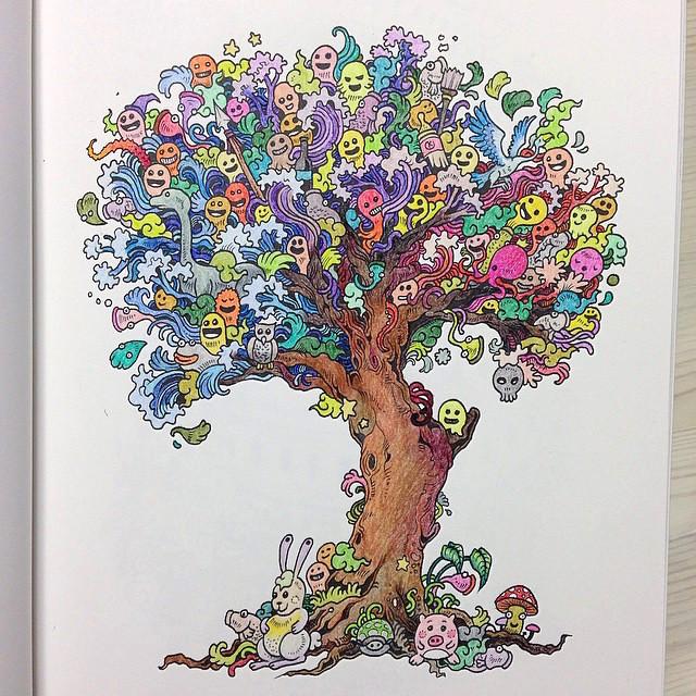 doodle-invasion-libro-da-colorare-per-adulti-kerby-rosanes-04