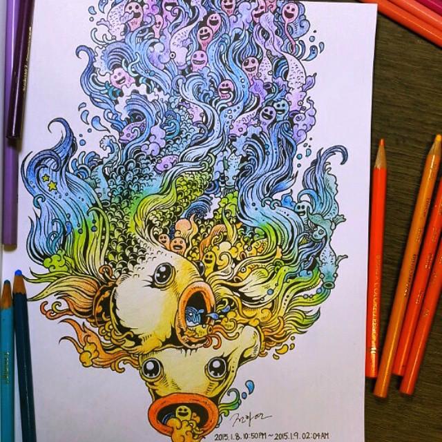 doodle-invasion-libro-da-colorare-per-adulti-kerby-rosanes-11