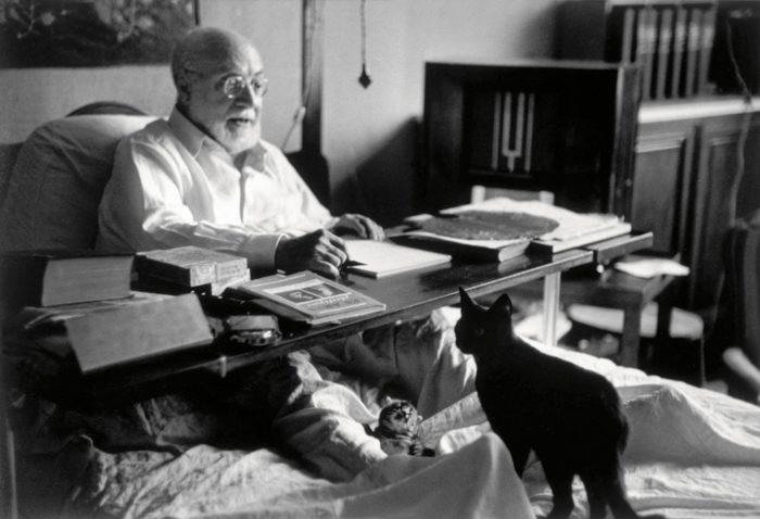 Henri Matisse Ed Il Suo Gatto