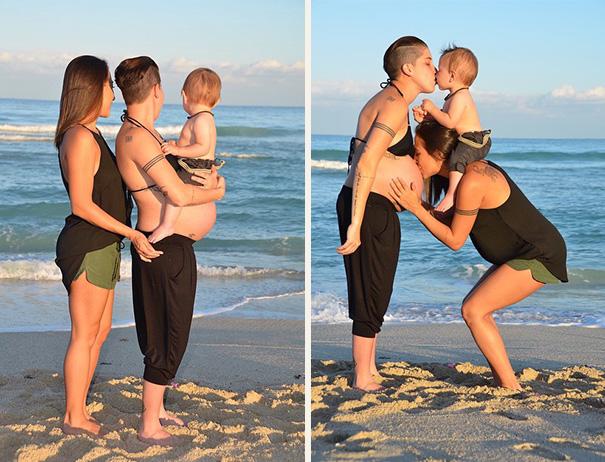 gravidanza-coppia-lesbiche-gay-foto-famiglia-1