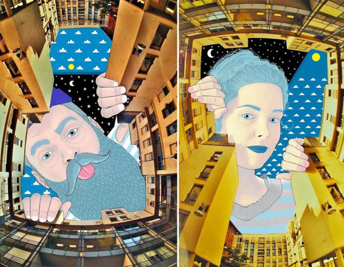 illustrazioni-artistiche-divertenti-cielo-palazzi-thomas-lamadieu-1