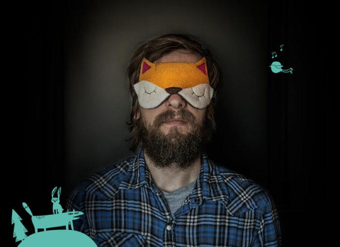 Graziose mascherine per il sonno proteggono i vostri sogni dagli spiriti maligni
