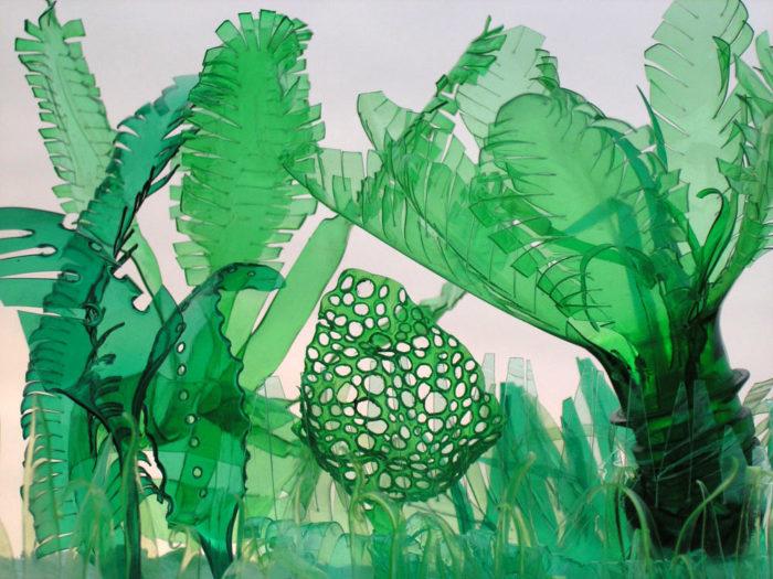 piante-sculture-bottiglie-plastica-pet-riciclate-Veronika-Richterová-10