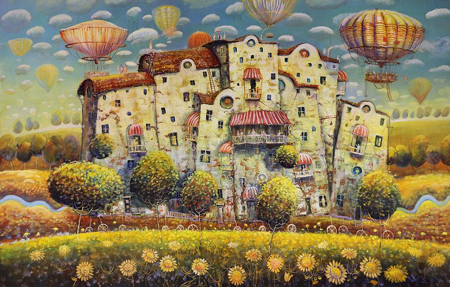 pittura-surreale-contemporanea-olio-su-tela-Modestas-Malinauskas-03