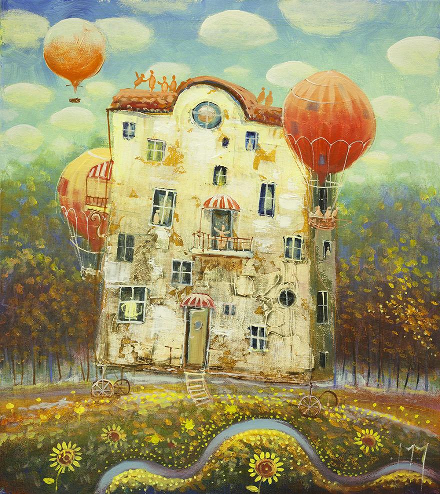 pittura-surreale-contemporanea-olio-su-tela-Modestas-Malinauskas-04