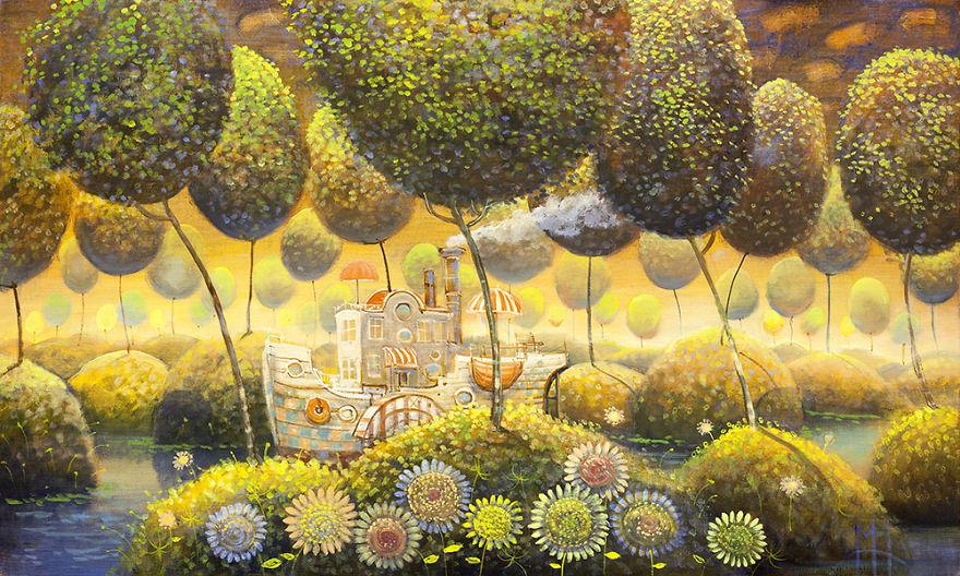 pittura-surreale-contemporanea-olio-su-tela-Modestas-Malinauskas-05