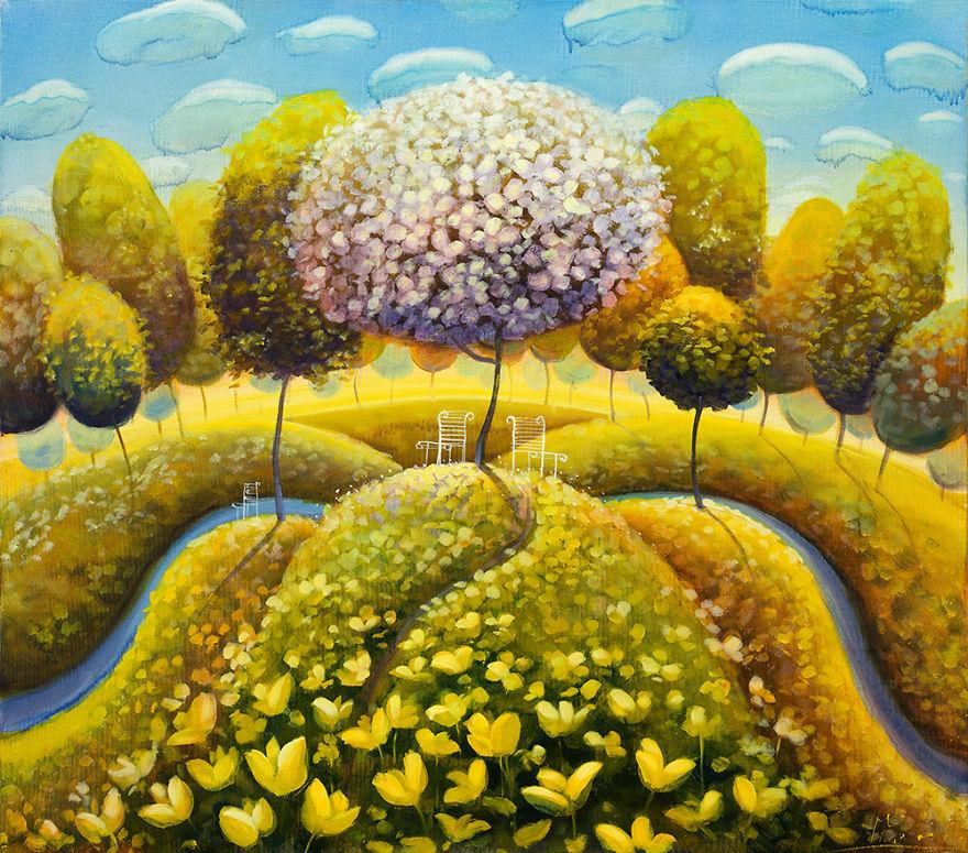pittura-surreale-contemporanea-olio-su-tela-Modestas-Malinauskas-07