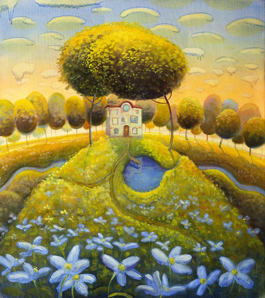 pittura-surreale-contemporanea-olio-su-tela-Modestas-Malinauskas-09