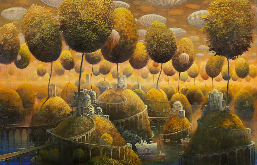pittura-surreale-contemporanea-olio-su-tela-Modestas-Malinauskas-10
