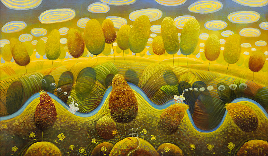 pittura-surreale-contemporanea-olio-su-tela-Modestas-Malinauskas-12