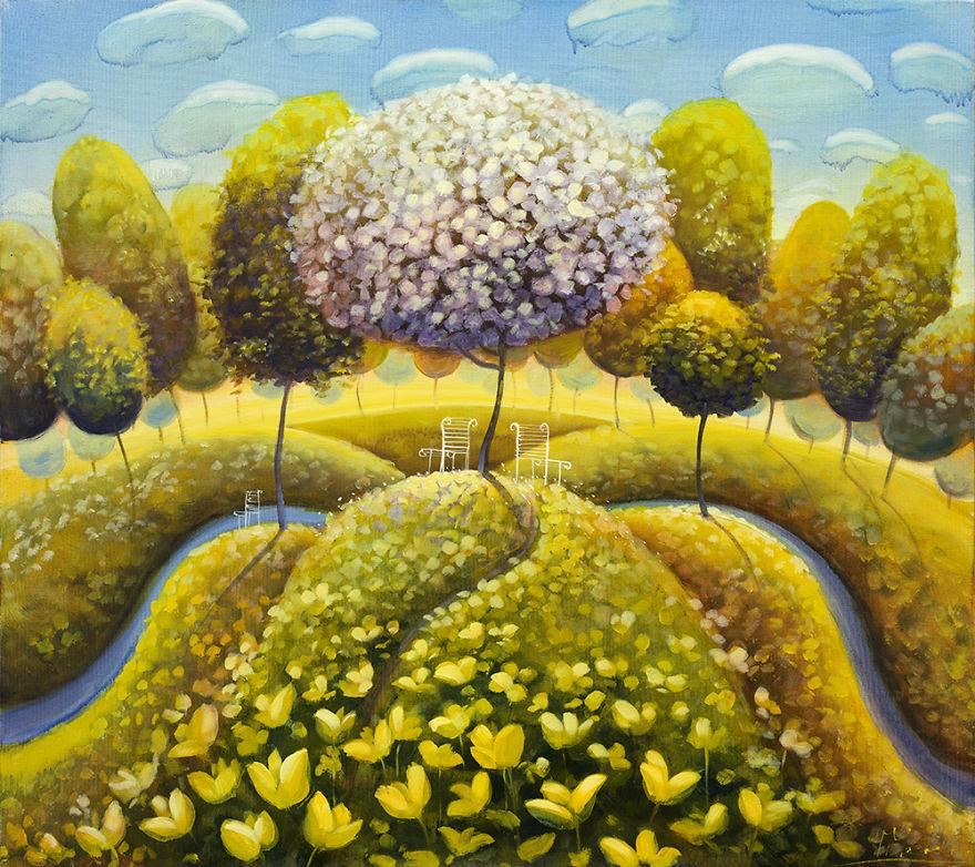 pittura-surreale-contemporanea-olio-su-tela-Modestas-Malinauskas-13