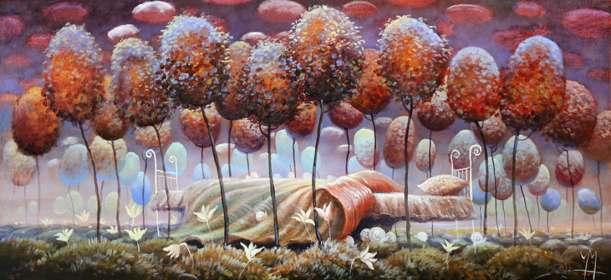 pittura-surreale-contemporanea-olio-su-tela-Modestas-Malinauskas-15