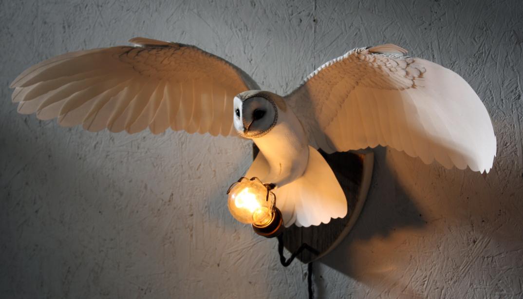 sculture-uccelli-finti-realistici-carta-Zack-Mclaughlin-04