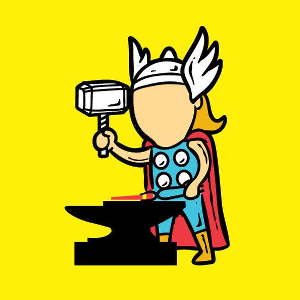 supereroi-lavoro-partime-divertenti-caricature-04