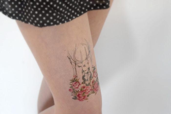 tatuaggio-temporaneo-gamba-temporary-tattoos-