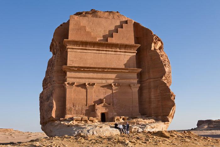 tomba-sepolcro-Qasr-al-Farid-arabia-saudita-archeologia-2
