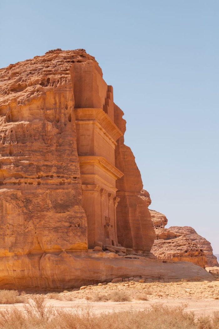 tomba-sepolcro-Qasr-al-Farid-arabia-saudita-archeologia-6