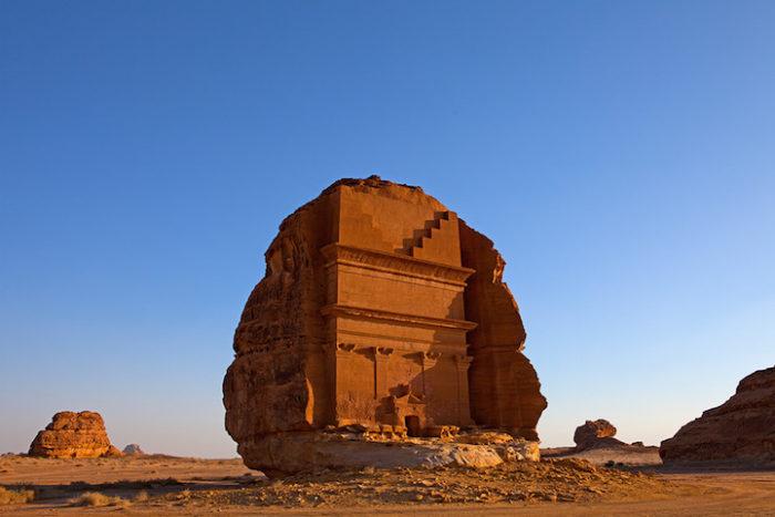 tomba-sepolcro-Qasr-al-Farid-arabia-saudita-archeologia-7