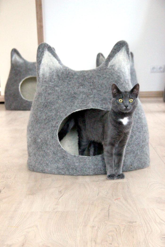 Lettini E Cucce Per Cani : Idee creative e spiritose di letti cucce per gatti