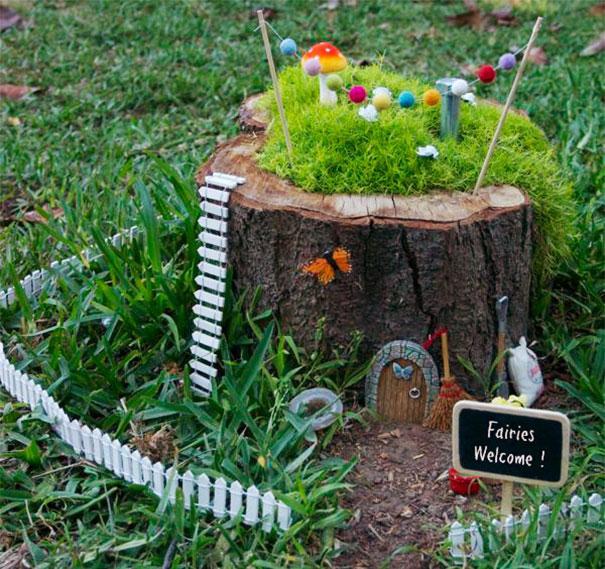 25 idee per creare una fioriera da un tronco d 39 albero for Idee per realizzare una fioriera