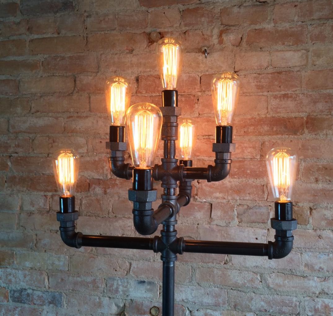 Lampade Con Bottiglie Riciclate ~ Ispirazione design casa